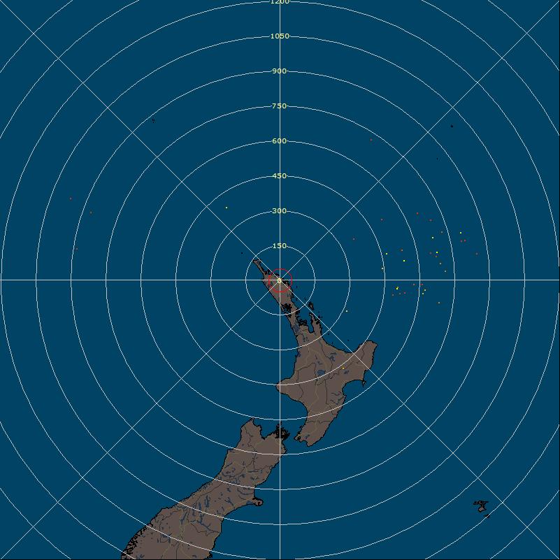 Kerikeri Weather Station - Lightning Radar