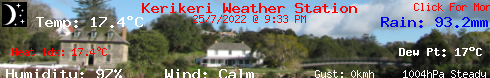 Kerikeri Weather Station